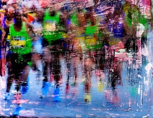 Maratoneti by Andrea Pacanowski contemporary artwork