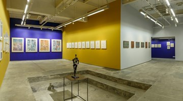 Contemporary art exhibition, Krishna Reddy, To a New Form at Experimenter, Kolkata