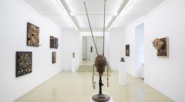 Contemporary art exhibition, Daniel Spoerri, Weißt du, schwarzt Du? at Galerie Krinzinger, Schottenfeldgasse 45, Vienna