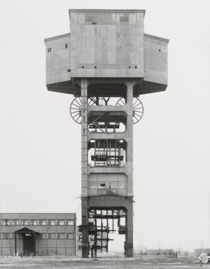 Mine Head, Siege De Folschwiller by Bernd & Hilla Becher contemporary artwork