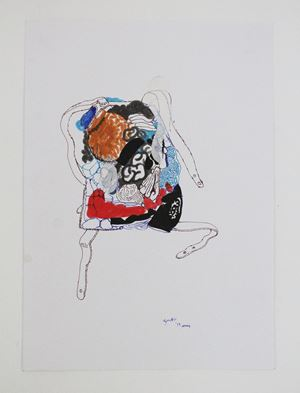 Backpack 5 by Jagath Weerasinghe contemporary artwork