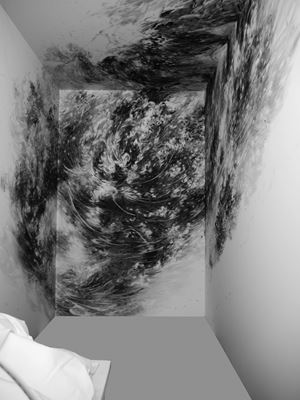 Der letzte Raum by Julia Steiner contemporary artwork installation