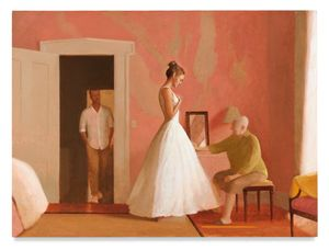 The Fitting by Bo Bartlett contemporary artwork
