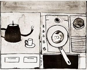 Breakfast by Noel McKenna contemporary artwork
