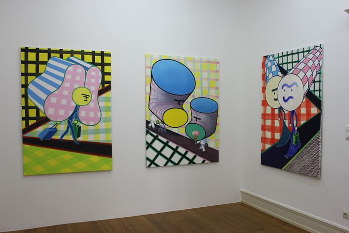 Exhibition view: Marcus Weber, C & A, Thomas Erben Gallery, New York (16 May–22 June 2019). Courtesy Thomas Erben Gallery.