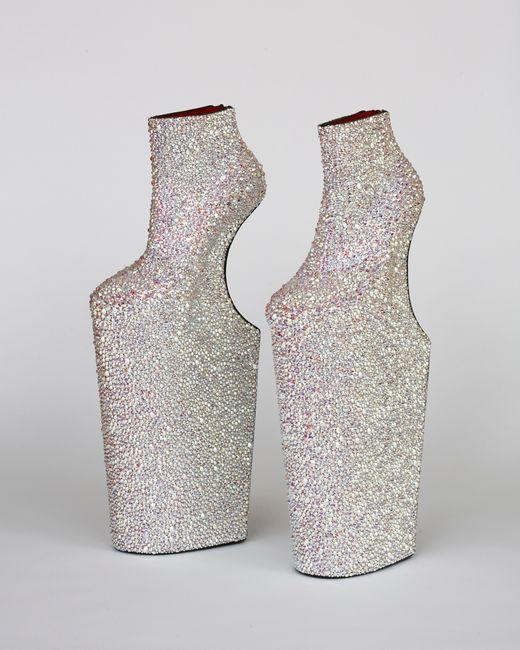 Heel-less Shoes by Noritaka Tatehana contemporary artwork
