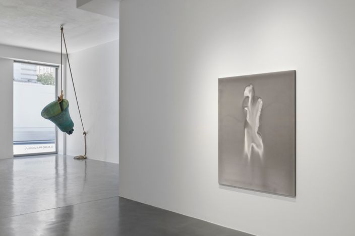 Exhibition view:Claudio Parmiggiani,Simon Lee Gallery, London (16 June–25 September 2021). Courtesy the artist and Simon Lee Gallery.Photo: Ben Westoby.