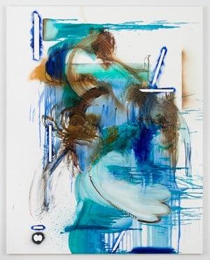 Fixtures Morning to Evening by Elizabeth Neel contemporary artwork