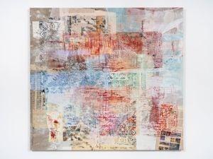 transliterated cut script by Mandy El-Sayegh contemporary artwork