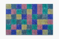 Modern:Ancient:Brown by McArthur Binion contemporary artwork painting, works on paper, drawing