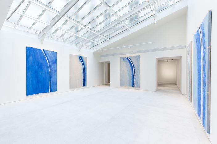 Exhibition view: Günther Uecker, Lichtbogen, Lévy Gorvy, Paris (22 October 2020–23 January 2021). CourtesyLévy Gorvy. Photo: Arthus Boutin