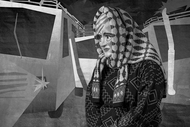 Angela Rebeca Rafaela Robles Huacon de Vera (Terminal) by Edison Peñafiel contemporary artwork