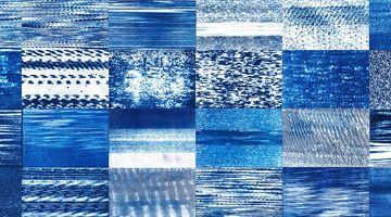 Contemporary art exhibition, Corinne De San Jose, Little Blue Window at SILVERLENS, Manila