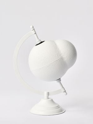 a model for Theia (white) by Nolan Oswald Dennis contemporary artwork sculpture