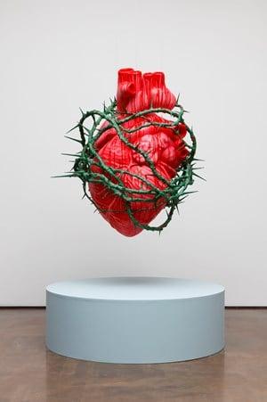 Heart of the Artist 2 by Ahn Chang Hong contemporary artwork