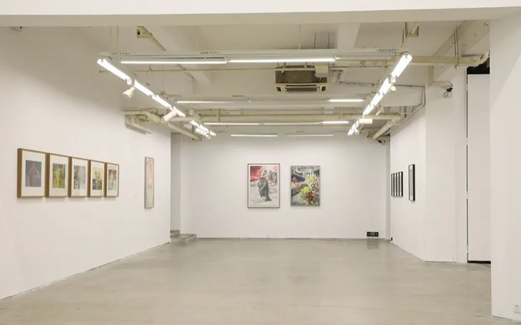 Exhibition view: Group exhibition, I-Define, A Thousand Plateaus Art Space, Chengdu (28 November 2020–17 January 2021). Courtesy A Thousand Plateaus Art Space.