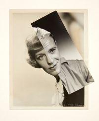 Marriage (Film Portrait Collage) CXVI by John Stezaker contemporary artwork mixed media