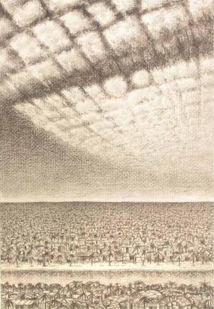 Separated to Unite by Jyothi Basu contemporary artwork