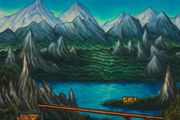 Eastern Window by Alejandro Cardenas contemporary artwork 2