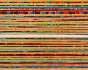 BLINDS: Lines No.2 by Chandraguptha Thenuwara contemporary artwork