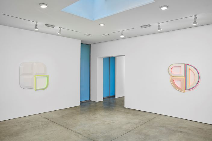 Exhibition view: Group Exhibition, cart, horse cart, Lehmann Maupin, 536 West 22nd Street, New York (20 June–16 August 2019). Courtesy the artists and Lehmann Maupin, New York, Hong Kong, and Seoul. Photo: Matthew Herrmann.