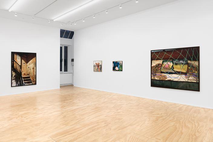 Exhibition view: Lucas Blalock, Florida, 1989, Eva Presenhuber, New York (27 February–10 April 2021). © Lucas Blalock. Courtesy the artist and Galerie Eva Presenhuber, Zurich / New York.