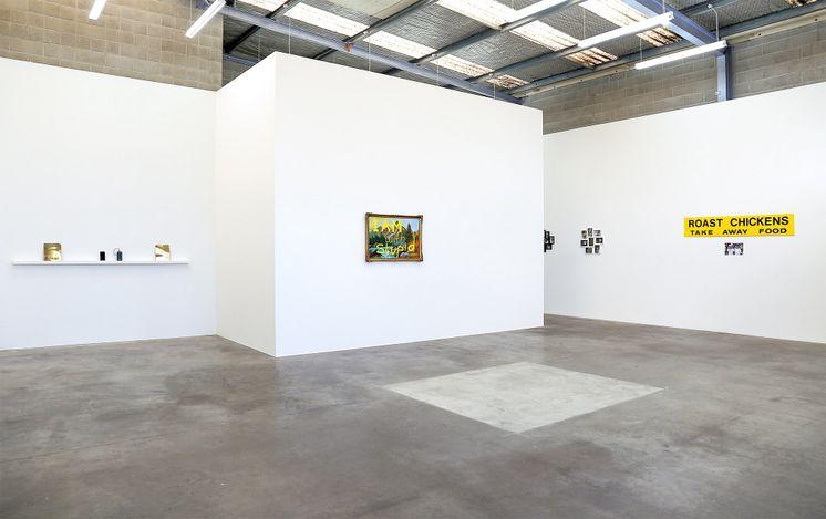 Exhibition view: Sanjay Theodore, Crusader, Jonathan Smart Gallery, Christchurch (25 May–12 June 2021). Courtesy Jonathan Smart Gallery.