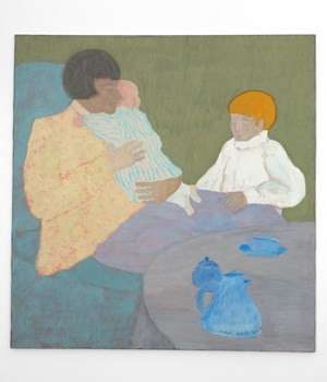 Family Tea by March Avery contemporary artwork