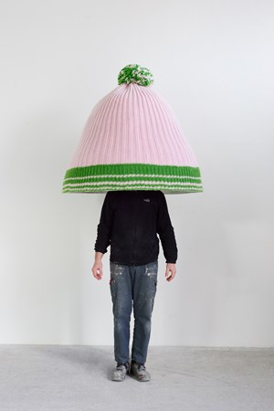 Untitled (Austrian mountain cap) by Erwin Wurm contemporary artwork