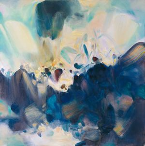 Abundant Tropics by Chu Teh-Chun contemporary artwork