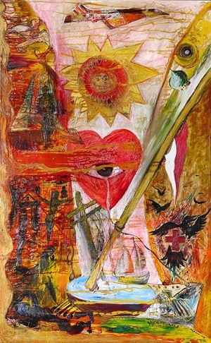 Mata Hati by Nasirun contemporary artwork