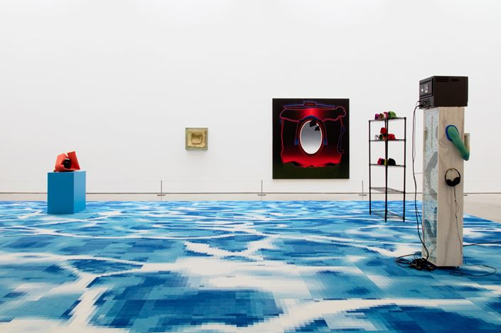 Exhibition view: Group Exhibition, Difference Engine, Lisson Gallery, West 24th Street, New York (29 June–10 August 2018). Courtesy Lisson Gallery.