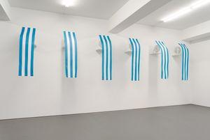 Westwind - travail situé by Daniel Buren contemporary artwork