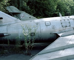 Deserted Battleplane (from series 10 Days in Krakow) by Yang Yuanyuan contemporary artwork