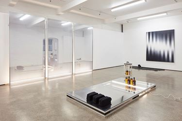 Exhibition view: Martin Basher, Devil at the Gates of Heaven, George Fraser Gallery, University of Auckland (August 2017). Courtesy Starkwhite.