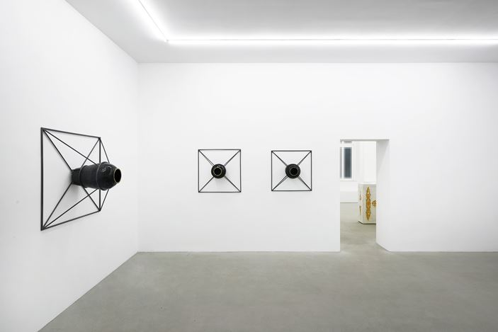 Exhibition view: Li Gang, Vowel,Rolando Anselmi, Berlin (12 October–12 December 2019). Courtesy Rolando Anselmi.