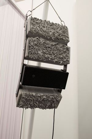 Cold World Cycles Warm (Line Array) by Jacqueline Kiyomi Gordon contemporary artwork