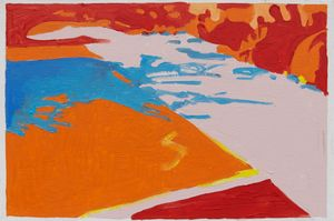 Palos Naranjas by Koen van den Broek contemporary artwork