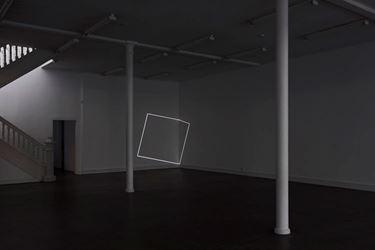Exhibition view: Daniel von Sturmer,Electric Light (facts/figures/starkwhite) (2017). Courtesy Starkwhite.