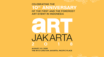 Contemporary art exhibition, Art Jakarta 2018 at Gajah Gallery, Singapore