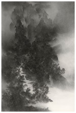 THE TWENTY-FOUR SOLAR TERMS: Bright and Clear 《二十四節氣之清明》 by Cao Xiaoyang contemporary artwork