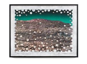 Graffiti Mountain No.5 by Ashley Bickerton contemporary artwork
