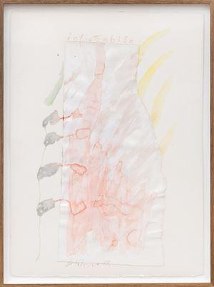 Infiamabile by Gerhard Hoehme contemporary artwork