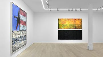 Contemporary art exhibition, Vaughn Spann, The Heat Lets us Know We're Alive at Almine Rech, New York