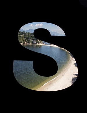 S by Marcos Chaves contemporary artwork
