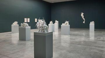 Contemporary art exhibition, Rachel Kneebone, Raft at White Cube, Mason's Yard, London, United Kingdom