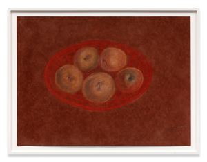 Bowl of Apples by Richard Artschwager contemporary artwork