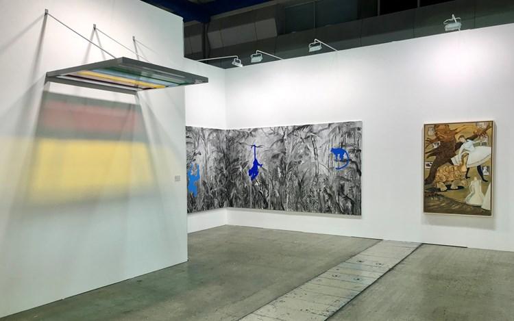 Installation view: Gallery Baton at KIAF, Seoul (4–7 October 2018). Courtesy Gallery Baton.