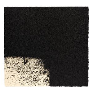 Right Angle III by Richard Serra contemporary artwork drawing, mixed media