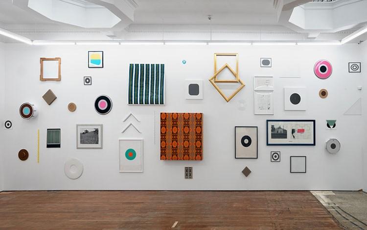 Julian Dashper,Dashper again and again, again,Exhibition view,2016